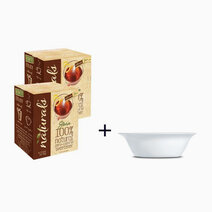 Natural Stevia Zero Calorie Sweetener (80 Sticks + Free Luminarc All Purpose Bowl) by Equal Philippines