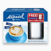Equal Classic (100s w/ Free Luminarc Glass Coffee Mug) by Equal Philippines