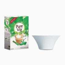 Pure Via Stevia (100 Sticks w/ Free Luminarc Stylish Salad Bowl) by Equal Philippines