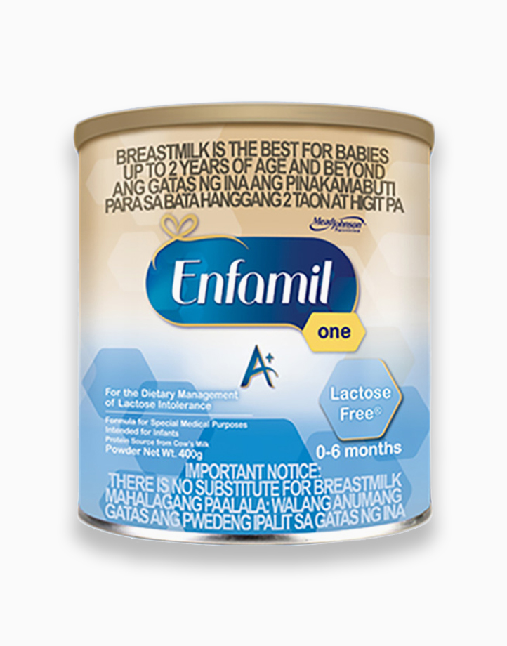 Enfamil A+ One Lactose Free for the Dietary Management of Lactose Intolerance for 0-6 Months (400g) by Enfagrow