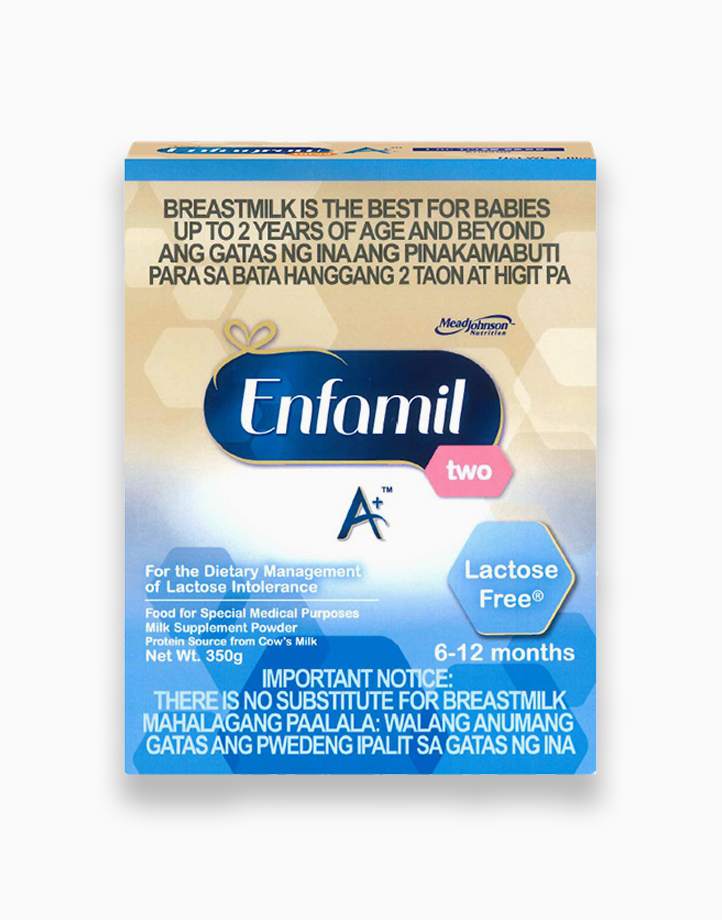 Enfamil A+ Two Lactose Free for the Dietary Management of Lactose Intolerenace for 6-12 Months (350g) by Enfagrow