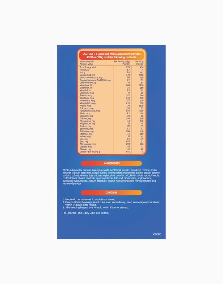 Lactum for 1-3 Years Old Plain Milk Supplement Powder (2kg) by Lactum