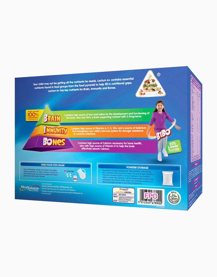 Lactum 6+ Plain Powdered Milk Drink for Children 6 Years Old and Above (2kg) by Lactum