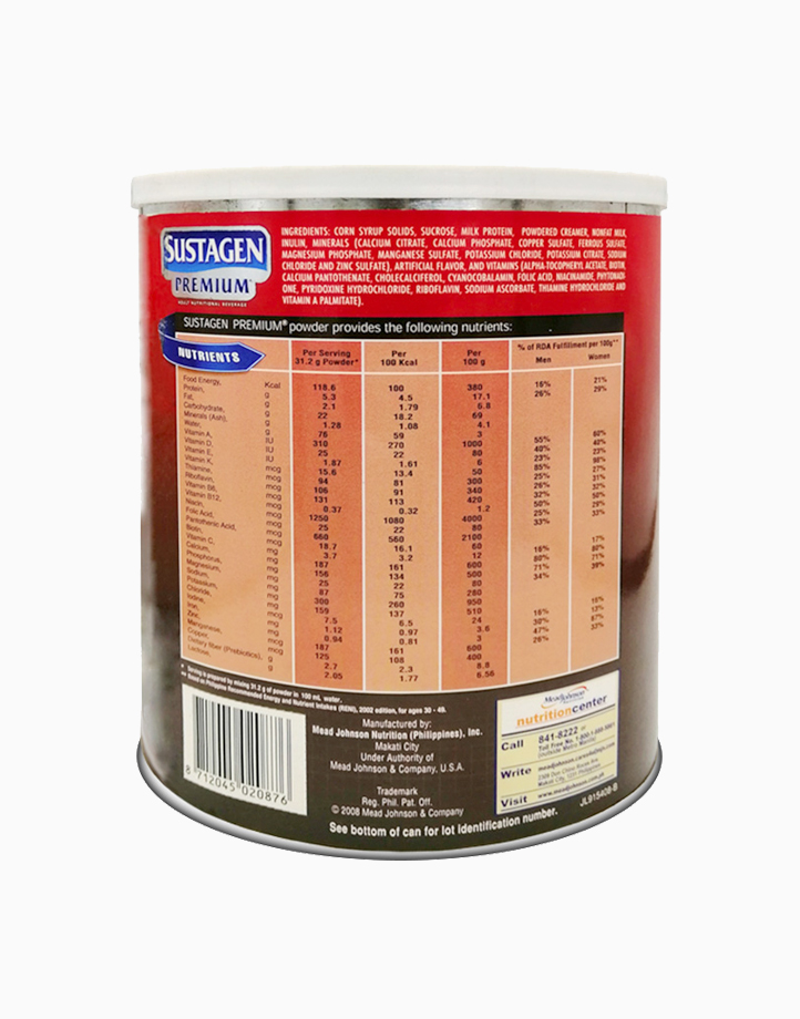 Sustagen Premium Milk Flavor Adult Nutritional Beverage (900g) by Sustagen