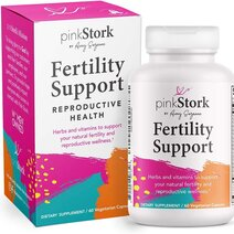 Fertility: Fertility Support (60 Vegetarian Capsules) by Pink Stork