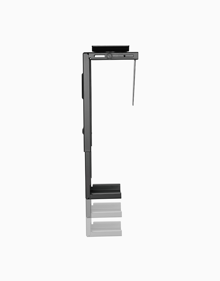 Adjustable CPU Bracket for Under Desk/Wall by True Vision