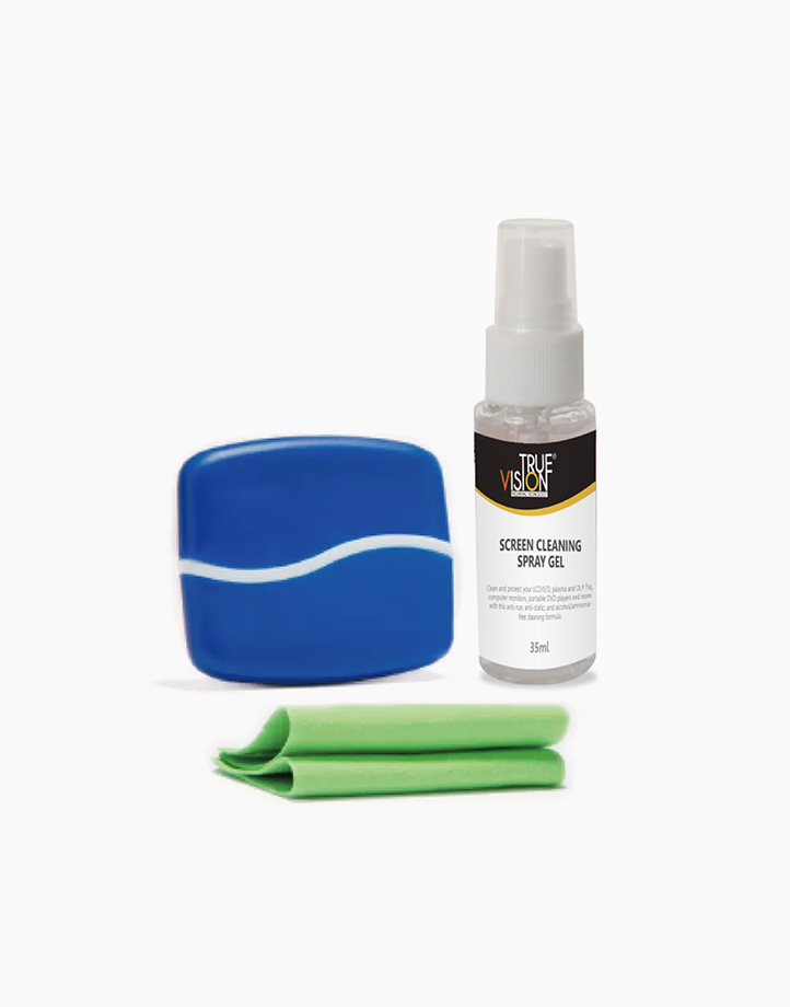 2-in-1 Screen Cleaner Kit with Brush by True Vision