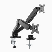 Dual Counter Balance Monitor Mount for 13″-27″ by True Vision