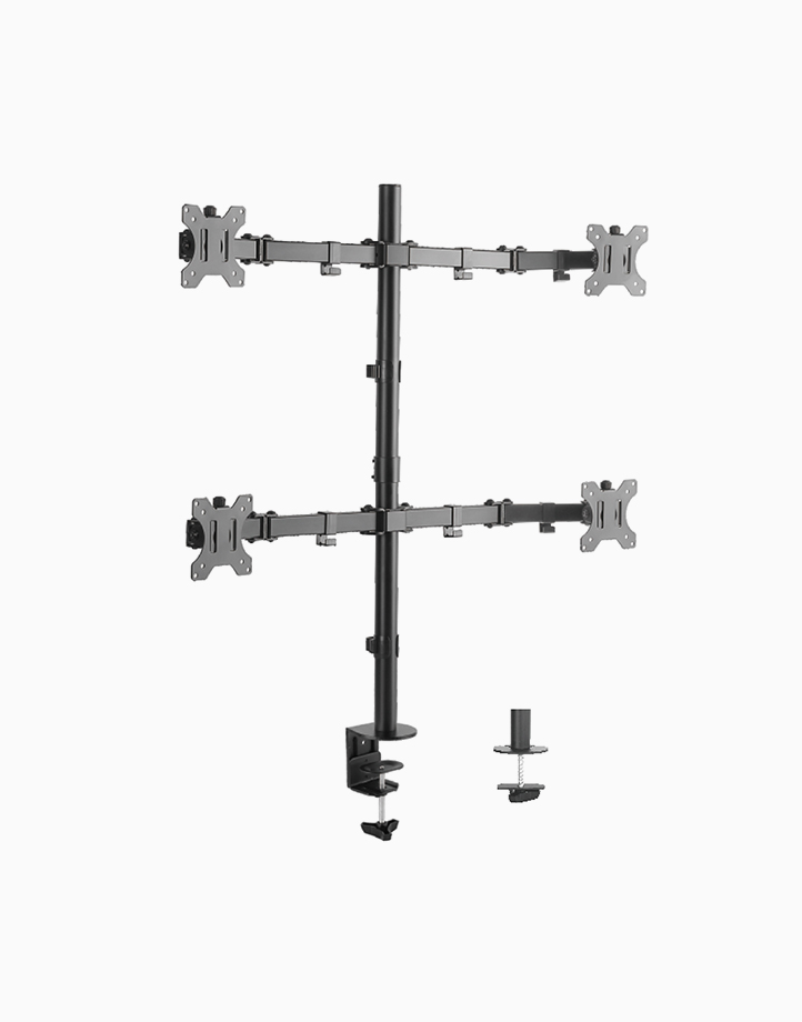 """Articulating Quad Monitor Stand for 13""""-32"""" by True Vision"""