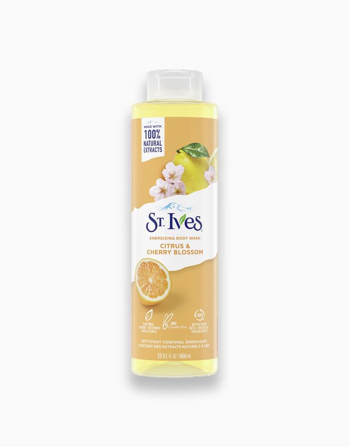 St. Ives Energizing Body Wash Citrus & Cherry Blossom (22oz) by Unilever Beauty