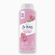 St. Ives Refreshing Body Wash Rose Water & Aloe Vera (16oz) by Unilever Beauty