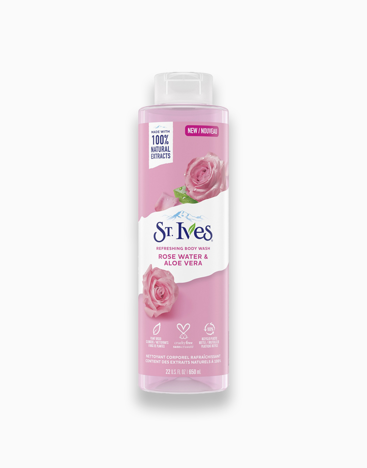 St. Ives Refreshing Body Wash Rose Water & Aloe Vera (22oz) by Unilever Beauty