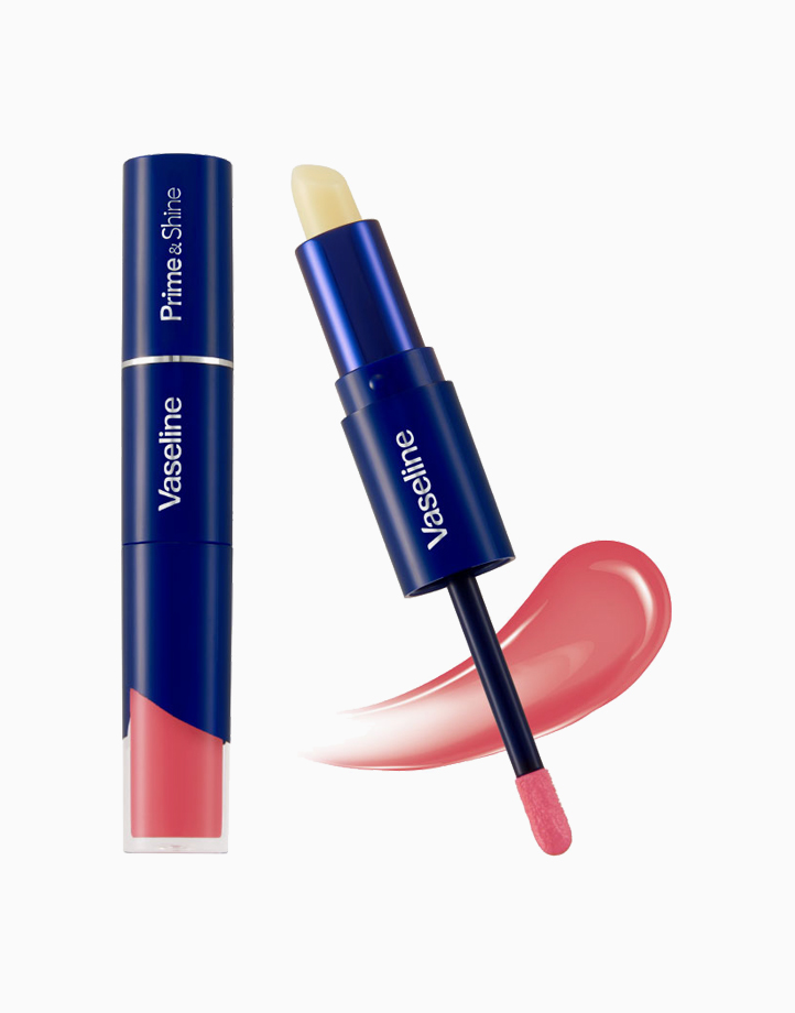Vaseline Prime & Shine (3.2g) by Unilever Beauty   Petal Pink