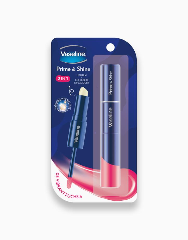 Vaseline Prime & Shine (3.2g) by Unilever Beauty   Vibrant Fuchsia