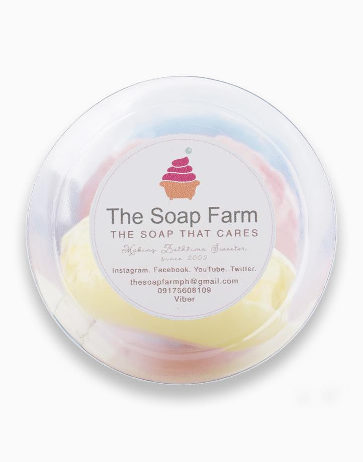 French Macaron Bath Soap Trio by The Soap Farm