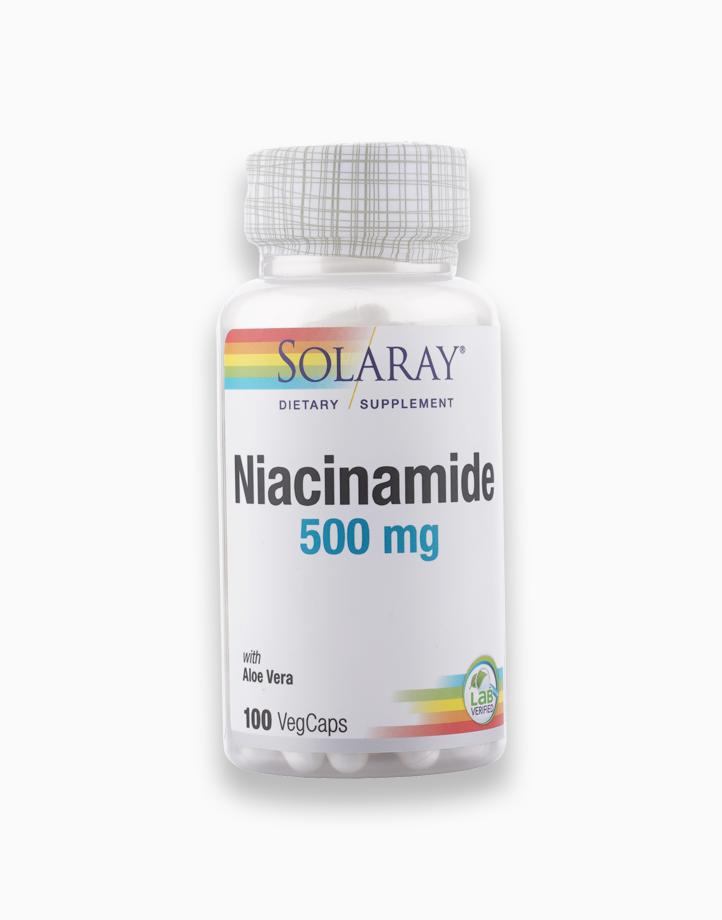 Niacinamide (500mg, 100 VegCaps) by Solaray