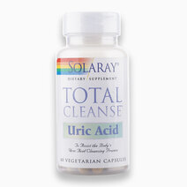 Total Cleanse Uric Acid (60 VegCaps) by Solaray