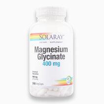 Magnesium Glycinate (400mg, 240 VegCaps) by Solaray