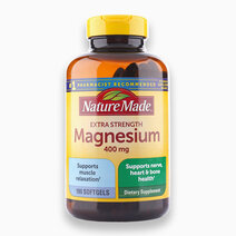 Extra Strength Magnesium (400mg, 180 Softgels) by Nature Made