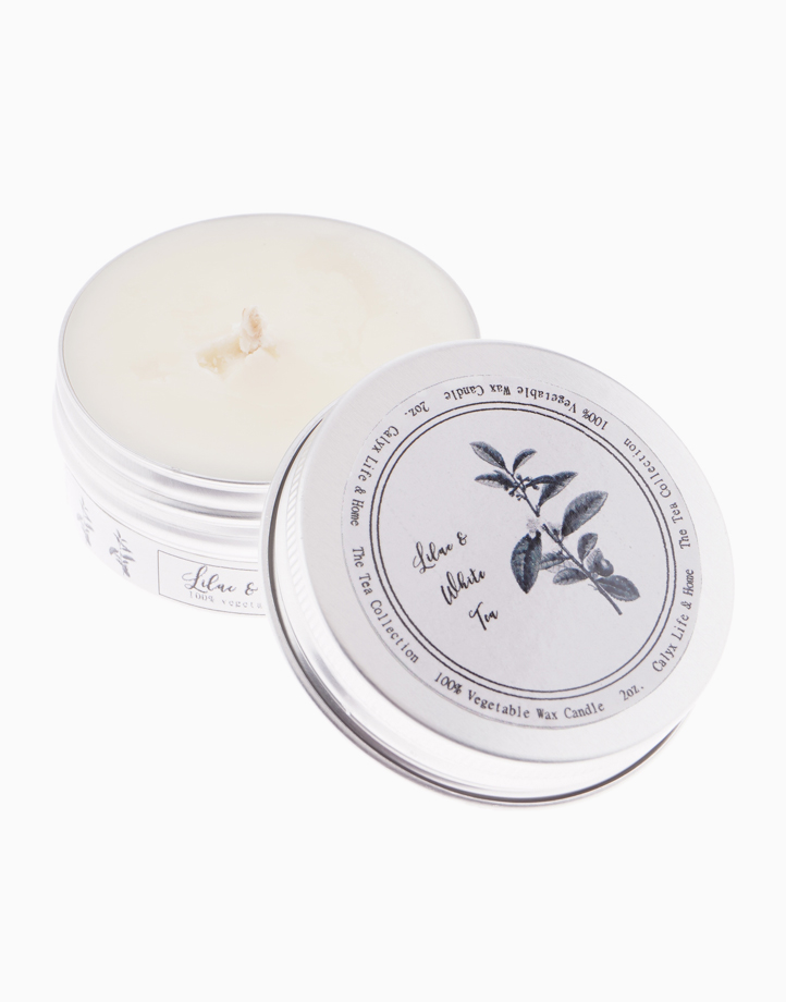 Lilac & White Tea Soy Candle - 2oz. by Calyx Life & Home