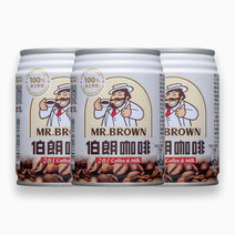 Classic Flavor Coffee 2-in-1 Coffee & Milk (240ml, Pack of 3) by Mr. Brown Coffee