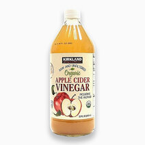 Raw & Unfiltered Organic Apple Cider Vinegar (946ml) by Kirkland