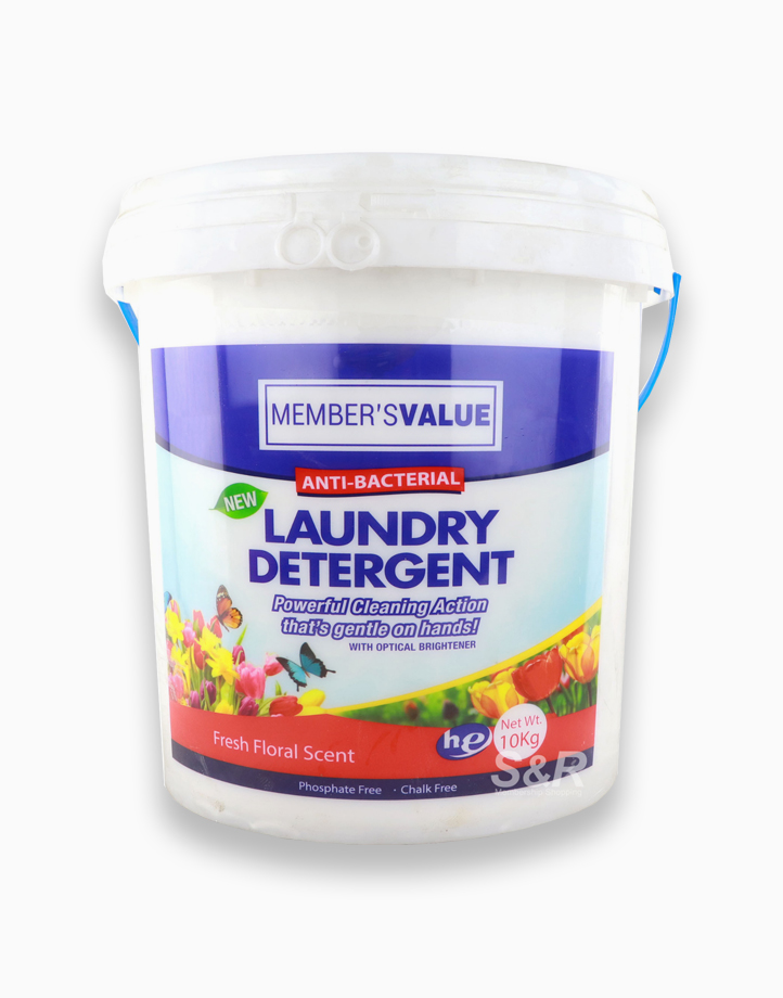 Laundry Powder Detergent (10kg) by Member's Value