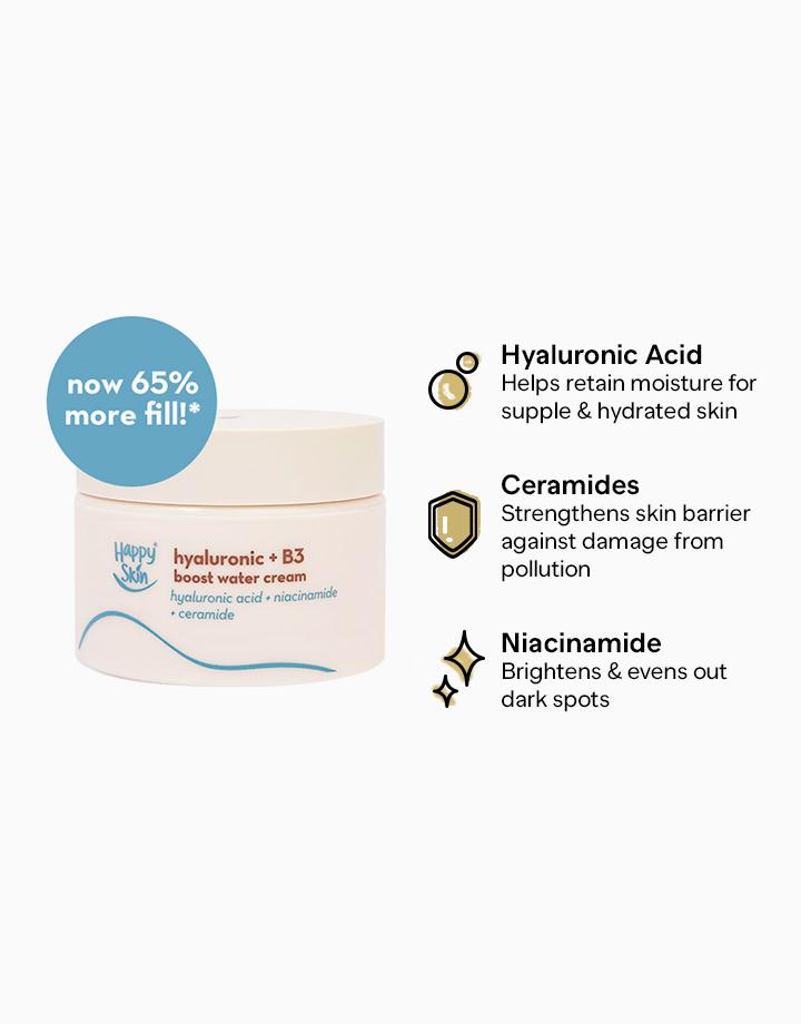 Happy Skin Hyaluronic + B3 Boost Water Cream by Happy Skin