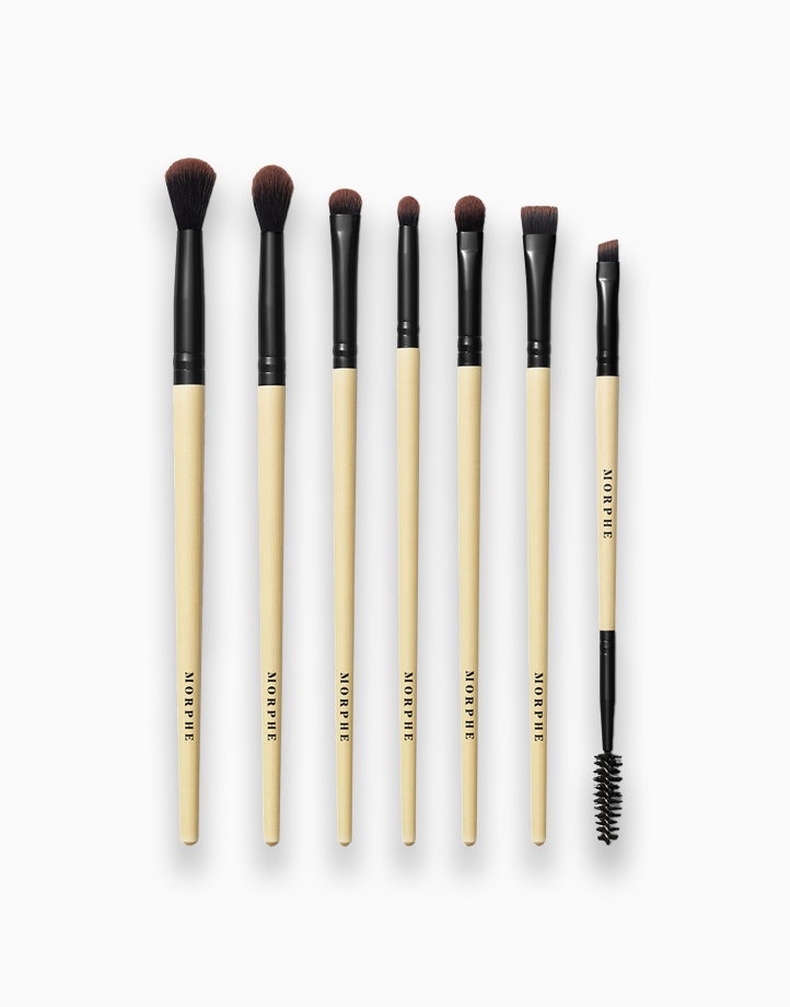 Earth to Babe 7-Piece Bamboo Eye Brush Set by Morphe
