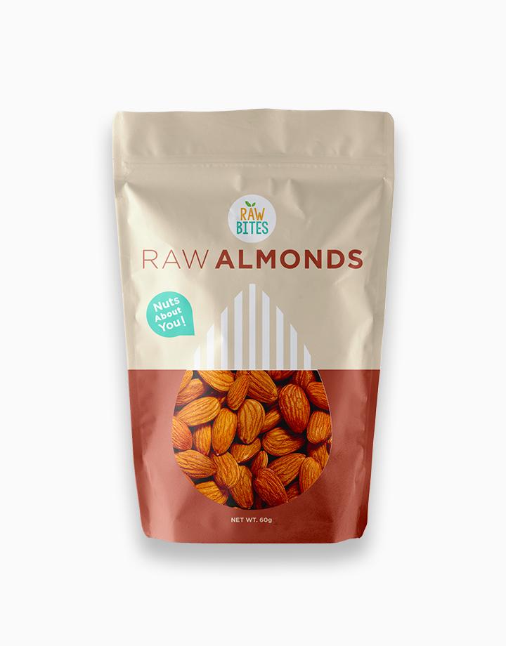 Raw Bites Raw Almonds (60g) by Raw Bites PH
