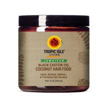 Coconut Jamaican Black Castor Oil Hair Food (4oz/118ml) by Tropic Isle