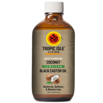 Coconut Jamaican Black Castor Oil (4oz/118ml) by Tropic Isle
