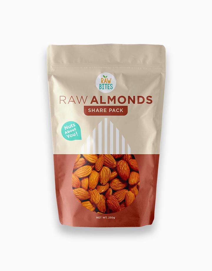 Raw Bites Raw Almonds (250g) by Raw Bites PH
