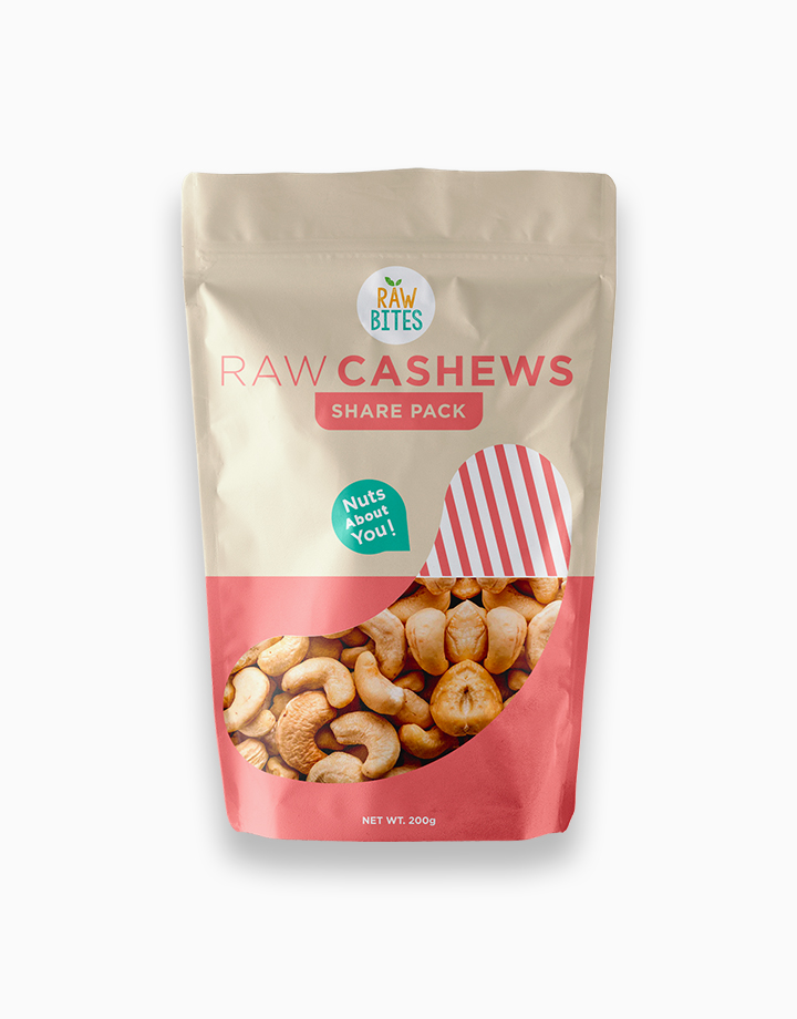 Raw Bites Raw Cashews (200g) by Raw Bites PH