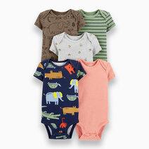 Baby Boy 5-Pack Safari Original Bodysuits by Carter's