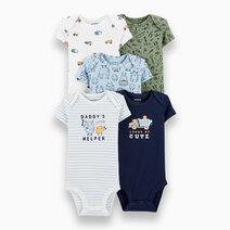 Baby Boy 5-Pack Daddy's Helper Bodysuits by Carter's