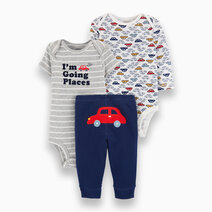 Baby Boy 3-Piece I'm Going Places Little Character Set by Carter's