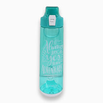 Kash Tritan Water Bottle with Handle in Green (800ml) by Omega Houseware