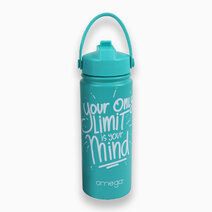 Elliot Green Double Wall Stainless Steel Water Bottle w/ Powder Coating in Gift Box (500ml) by Omega Houseware