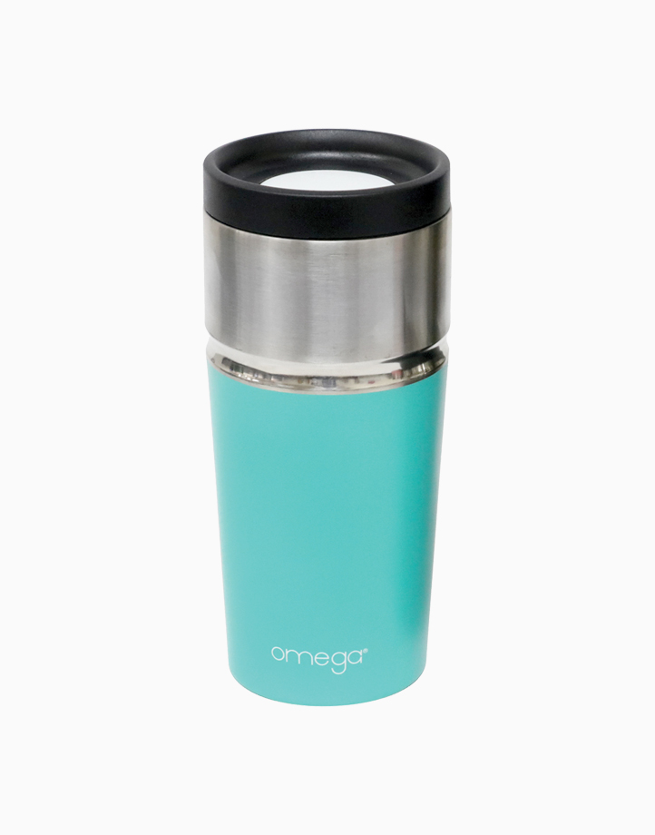 Cydney Double Wall Insulated Tumbler by Omega Houseware   Green