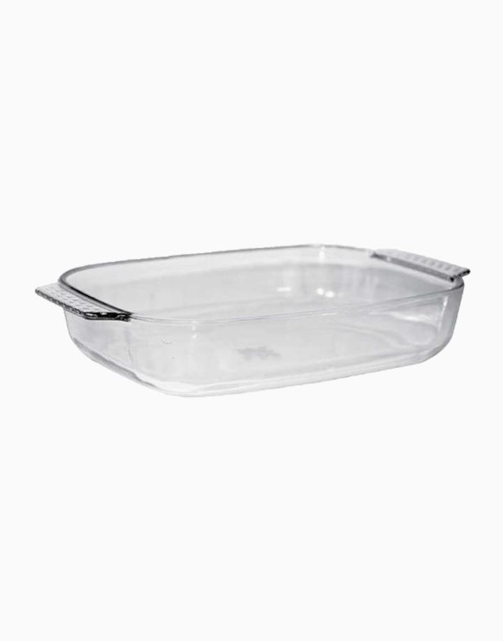 Adolf Rectangular Glass Bakedish (1.8L) by Omega Houseware