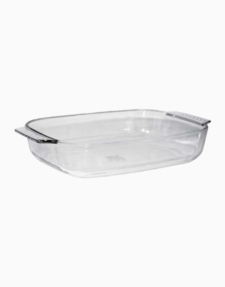 Adolf Rectangular Glass Bakedish (2.5L) by Omega Houseware