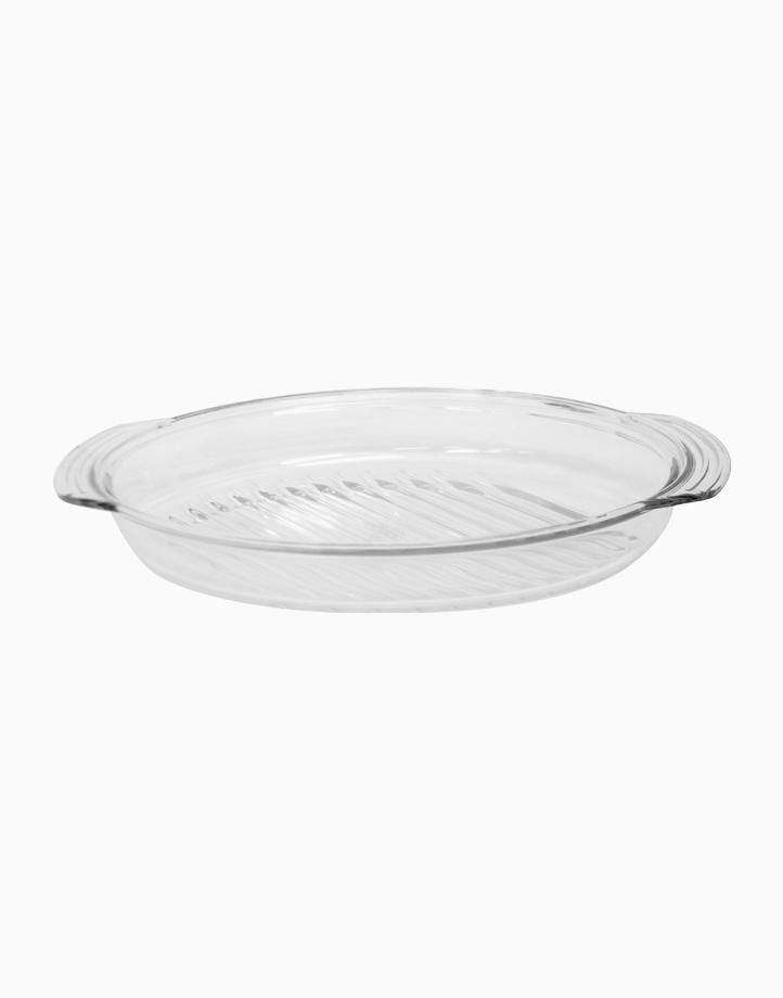 Orien Oval Glass Roaster by Omega Houseware