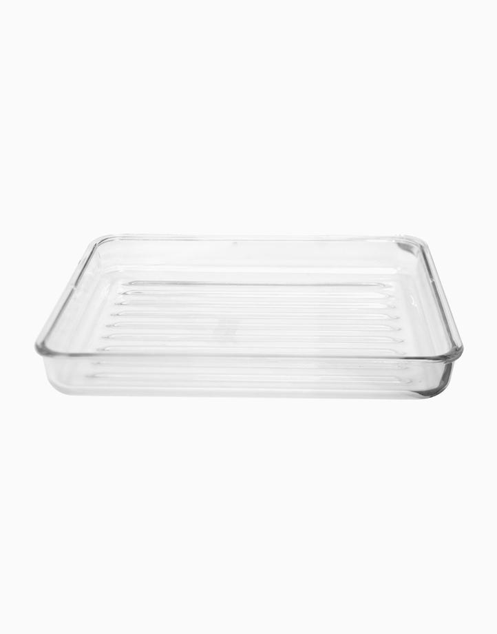 Orien Rectangular Glass Roaster by Omega Houseware