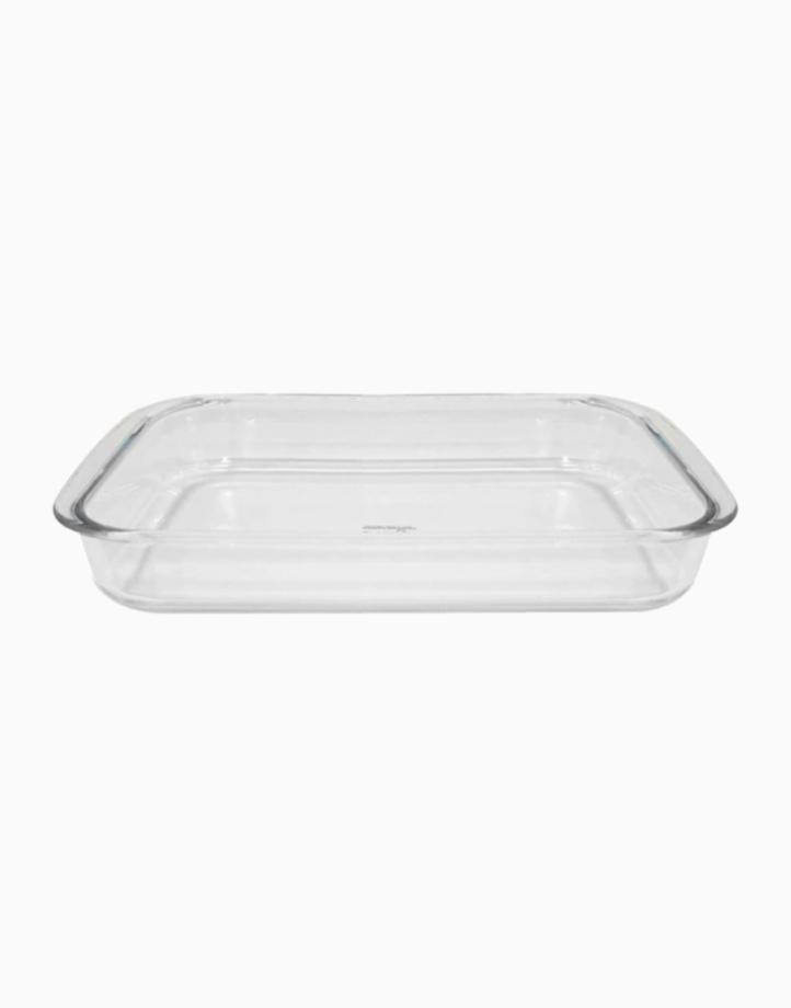 Vendome 1.0L Rectangular Glass Bakedish by Omega Houseware