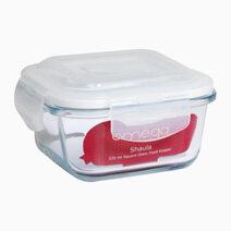 Shaula 320ml Square Glass Food Keeper by Omega Houseware