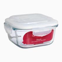 Shaula 520ml Square Glass Food Keeper by Omega Houseware