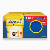 Equal Gold Sugarly Zero Calorie Sweetener 400g + FREE Luminarc Bowl w/ Lid by Equal Philippines
