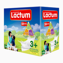Lactum 3+ Plain Powdered Milk Drink for Children Over 3 up to 5 Years Old (2.4kg) by Lactum