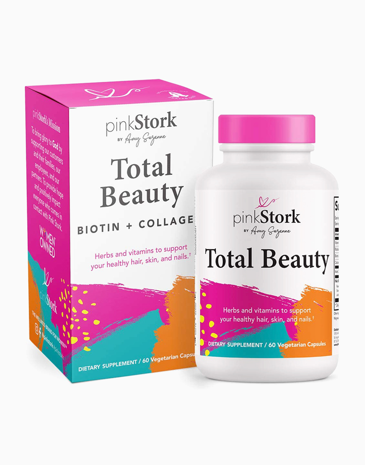 Total Beauty Supplement (60 Capsules) by Pink Stork
